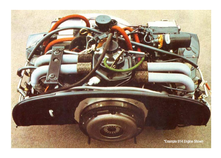 Porsche 914 197076 Engine Replacements Engine Parts