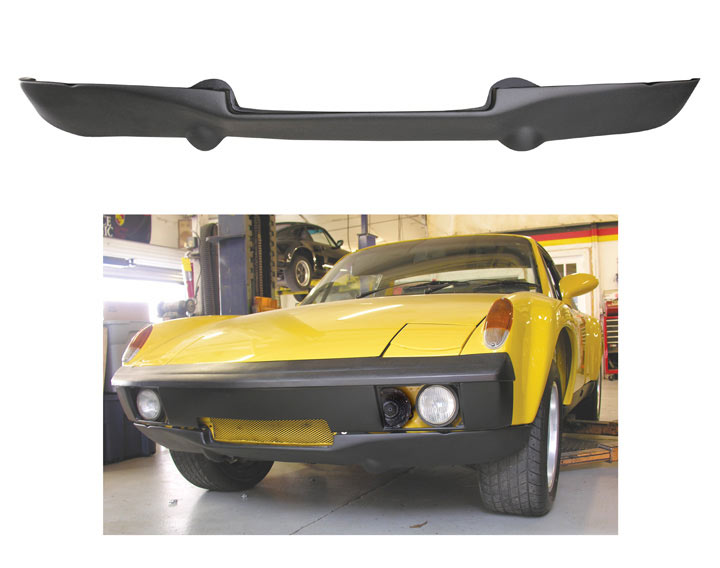 Gt Front Valance For Flared (gt) Fenders; 914 1970-76