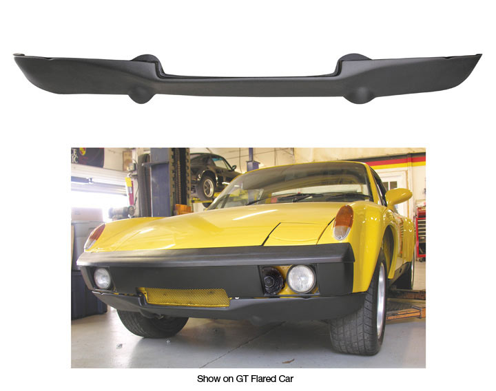 Gt Front Valance For Stock  Fenders Notched For Oil Cooler; 914