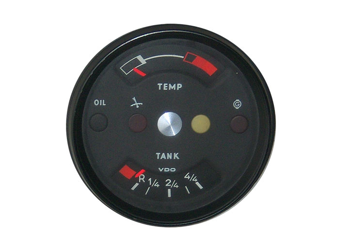 Rebuilt 914-6 Fuel/temp Gauge