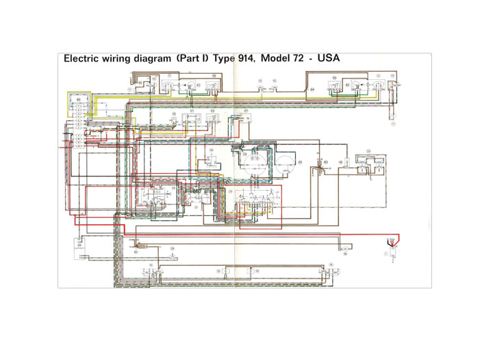 for porsche tc1012 tc1 012 ready to ship electric wiring diagram 914