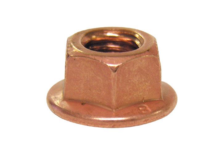 Copper Lock Washer : Porsche copper exhaust nut results