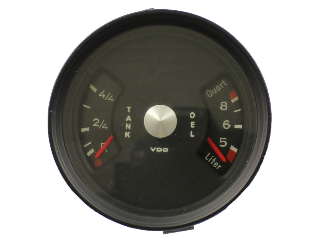 Fuel/temperature Gauge