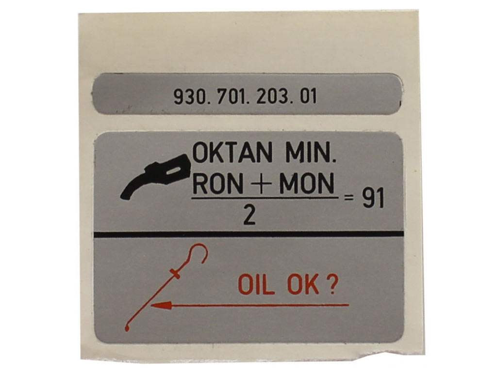 Decal-octane Rating