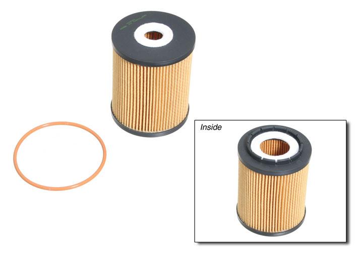 Porsche 356 B Mann Oil Filter Results