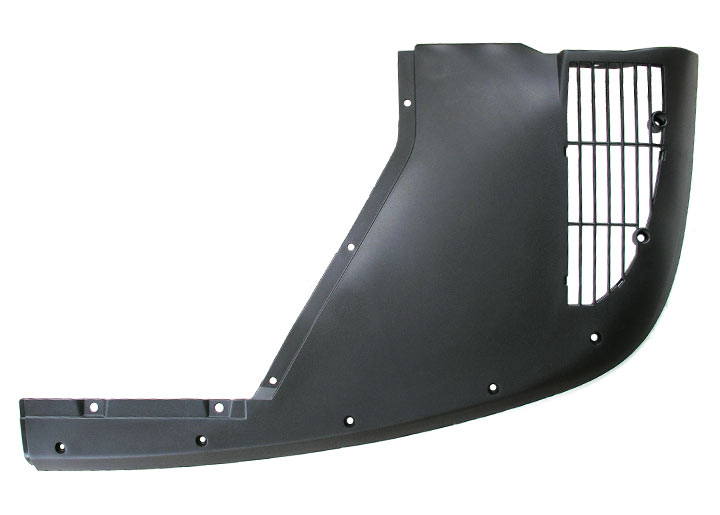 Underbody Panel - Satin Black
