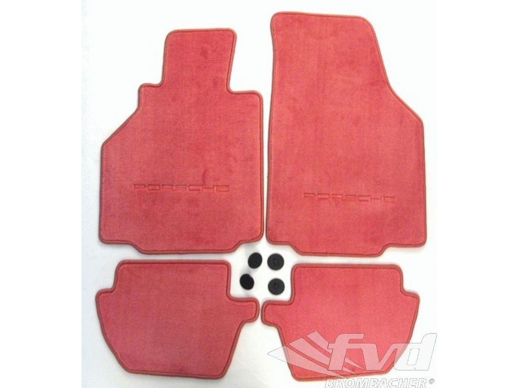 Floormat Set 996 Red