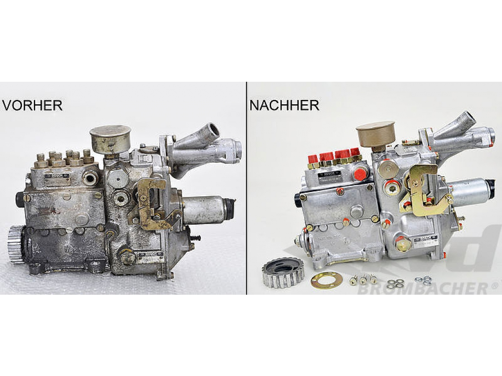 Mechanical Fuel Injection Pump - Remanufactured - Without Core ...