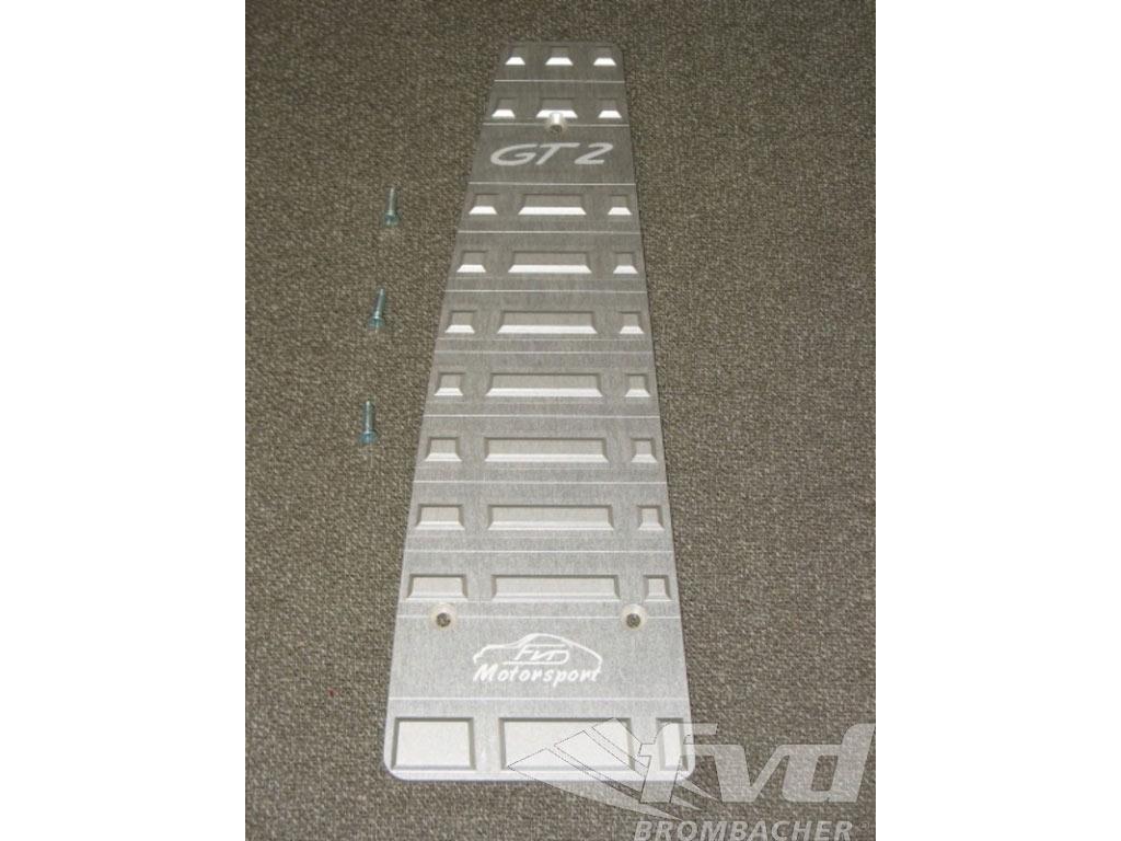 987/997 Aluminum Dead Pedal Gt2