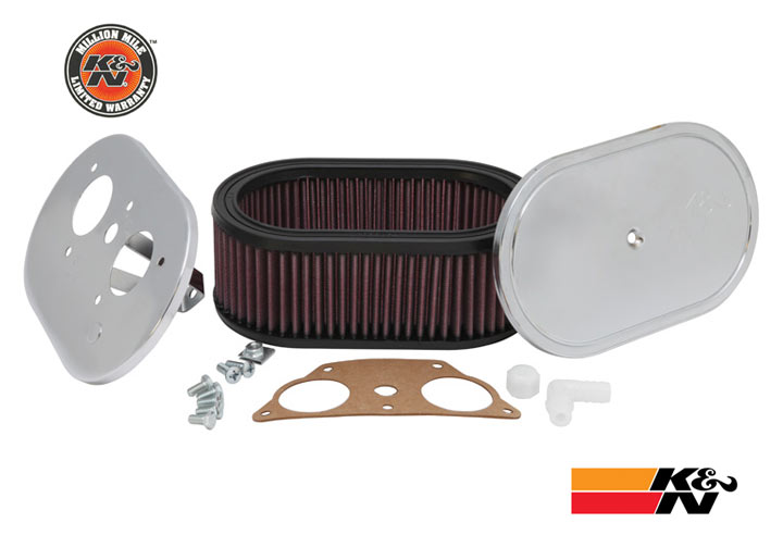 K&n Performance Air Filter For Solex 40 P11 Carburetor