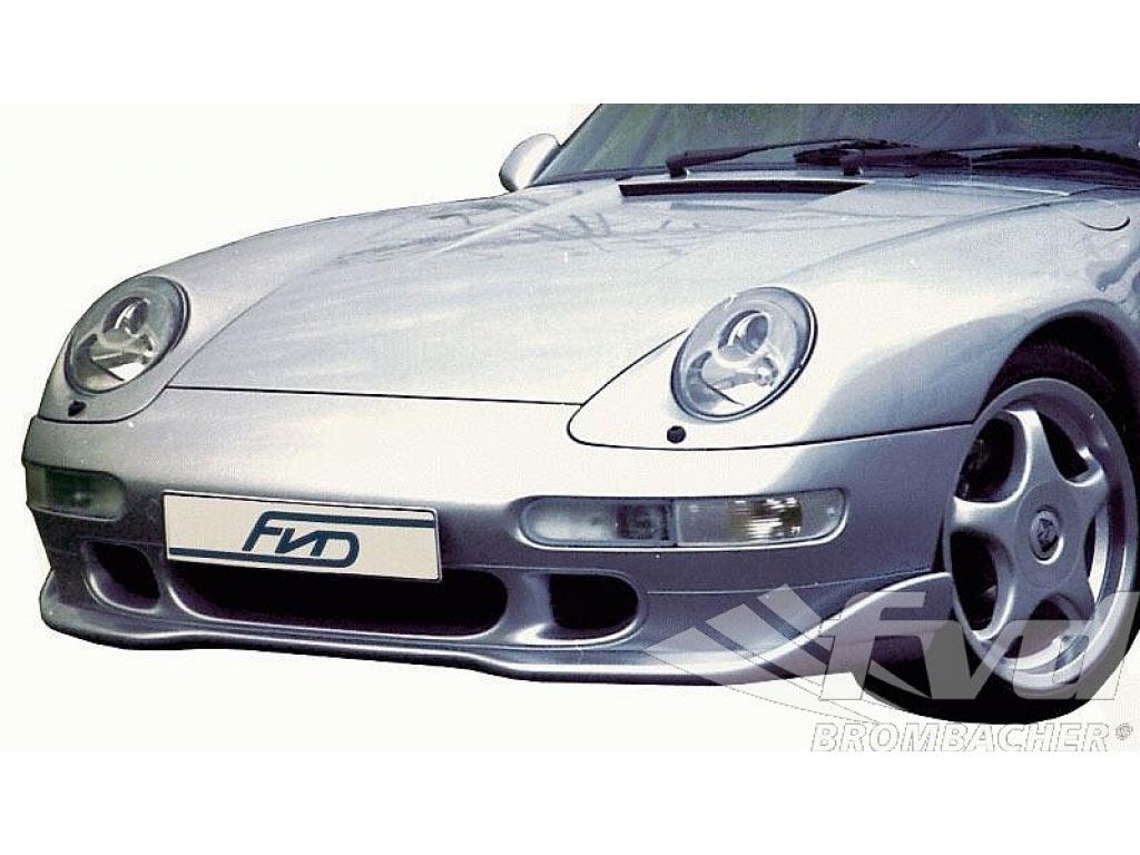 Gt2 Look Front Spoiler Lip (fits C2s/c4s/turbo)