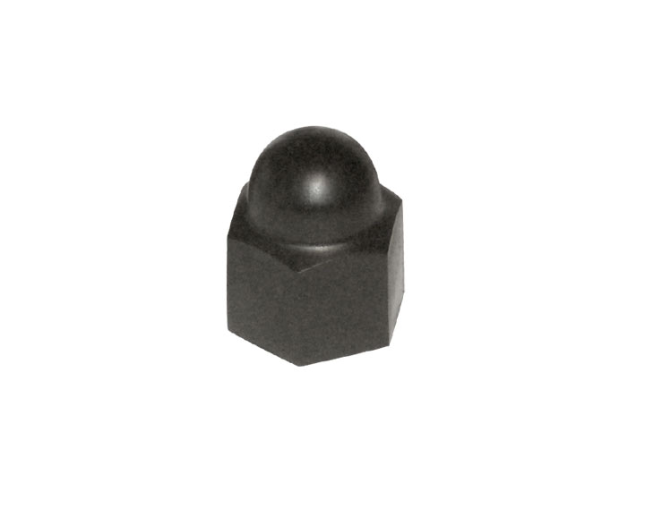 Black Cap For Wheel Bolt; 914 1974-76