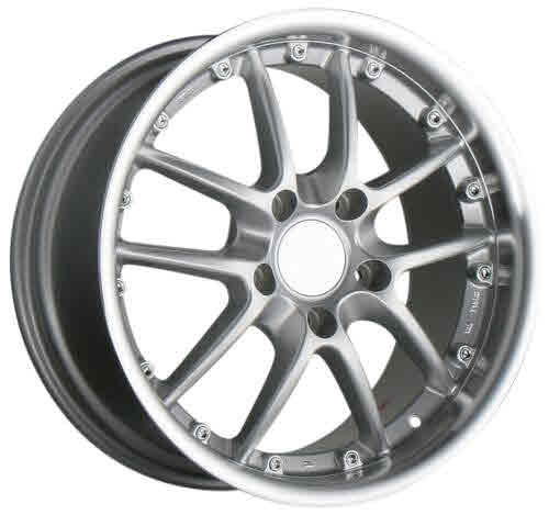 Ace Spyder Alloy Wheel Bright Silver (front 18x8.5,+52mm) Boxst...