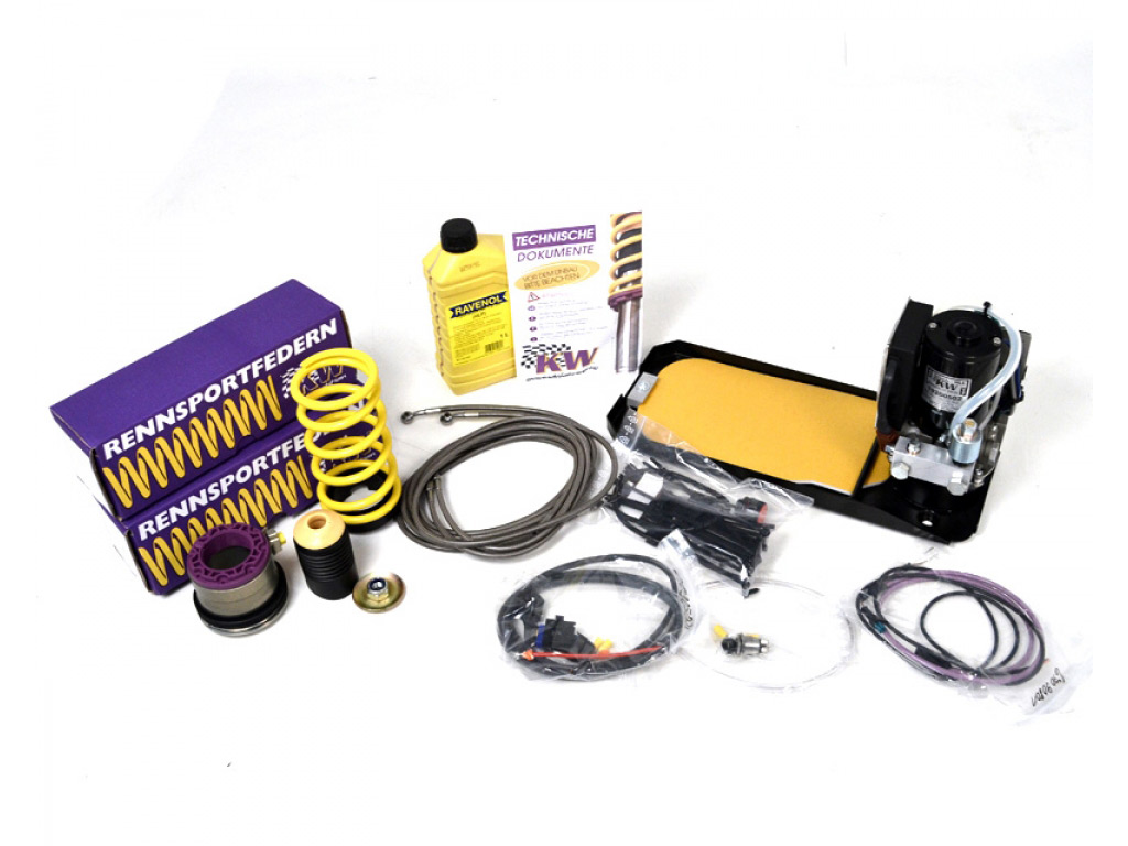 porsche 997 rear control unit results kw variant 3 v3 coilover kit front hls 2 lift system
