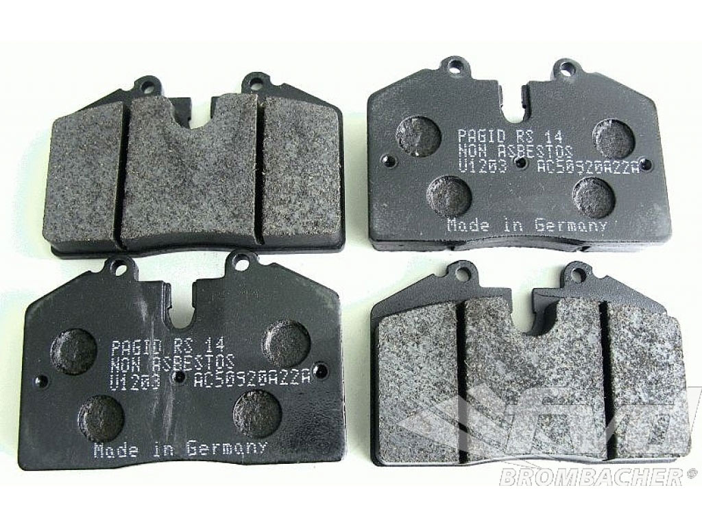 Pagid Racing Brake Pads - Black - E1203 14 010