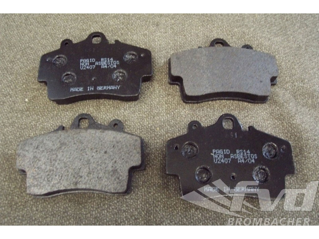 Pagid Racing Brake Pads - Black