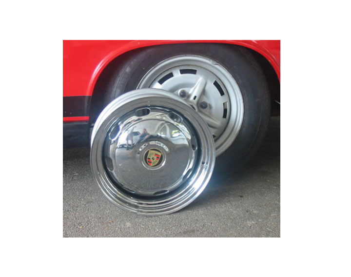 Hub Cap, Plain For Steel Wheel