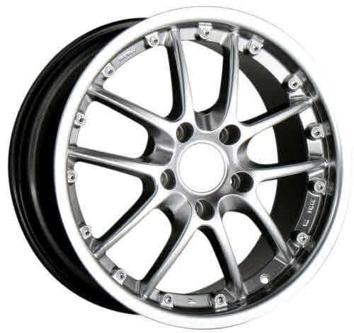 Ace Spyder Alloy Wheel Hyper Black (front 18x8.5,+52mm)boxster,...