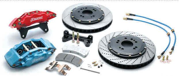 Rotora Front Big Brake Kits Boxster