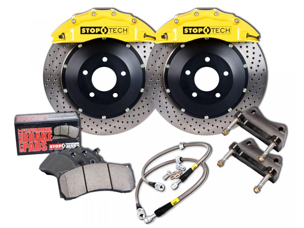 Front and Rear Brembo Brake Kit Disc Rotors Ceramic Pads Sensors For Porsche 911