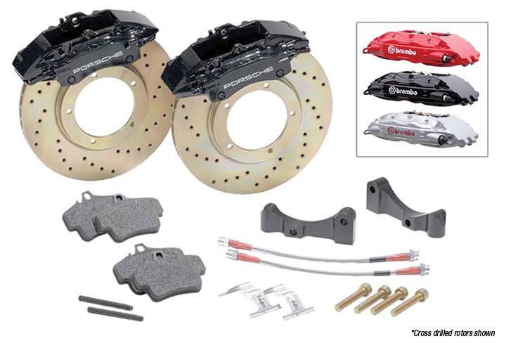 Brembo Monoblock Front Brake Kit, Cross-drilled