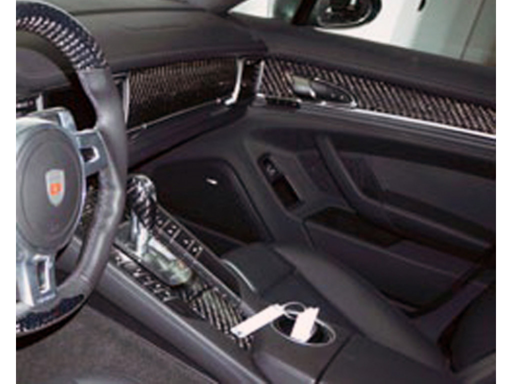 Mansory Carbon Fiber Interior Trim Kit