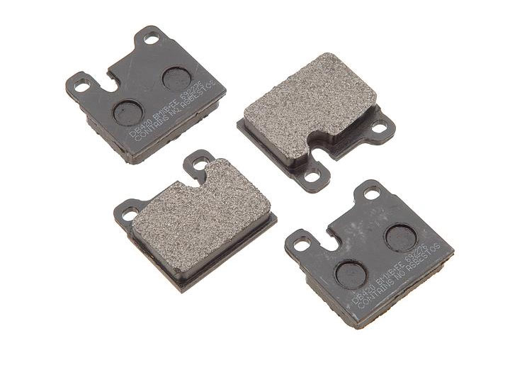 Pbr  Deluxe Brake Pad Set For Cast Iron Front