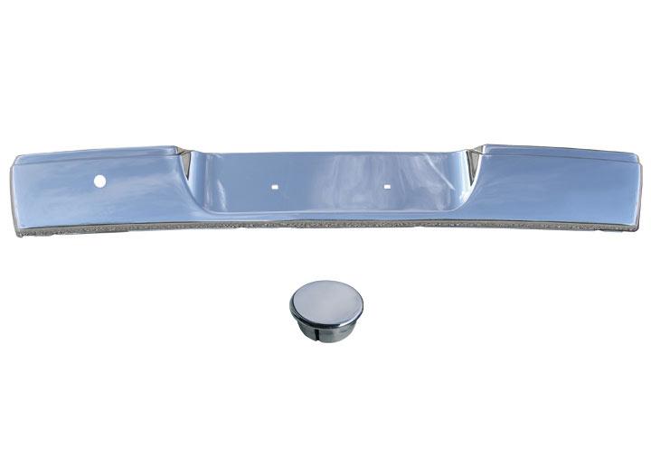 Stainless Chrome  Rear Bumper