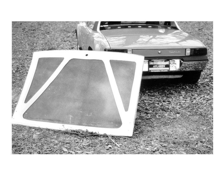 Gt Fiberglass Rear Deck Lid - 914