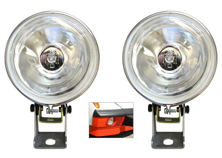 Pilot Driving Fog Light Set (two); 914 1970-74