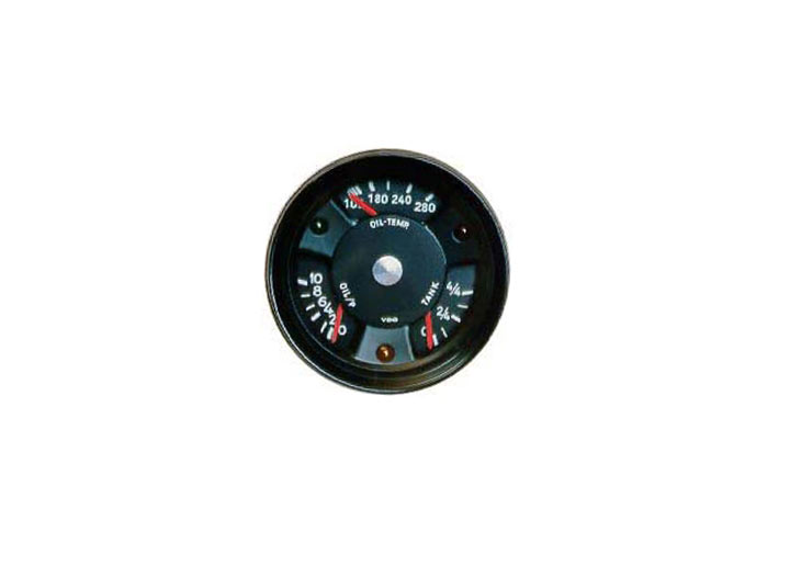 Factory Fuel, Oil Pressure And Oil Temperature Combined Gauge