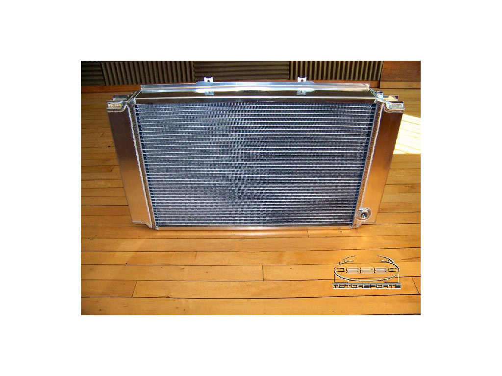 All-aluminum Replacement Radiator With Both Integral Oil Coolers