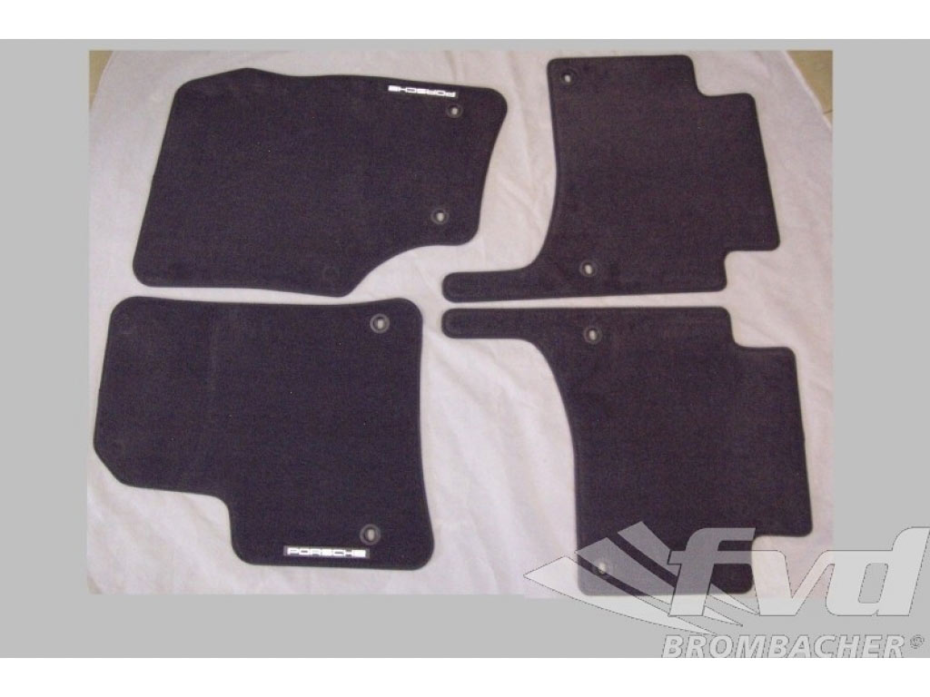 Porsche Cayenne 2003 06 Floor Mats Body Parts