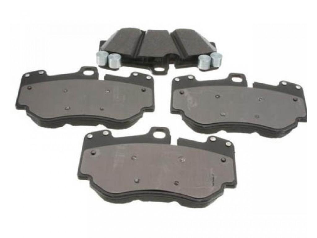 Oem front brake pad set for power kit upgrade