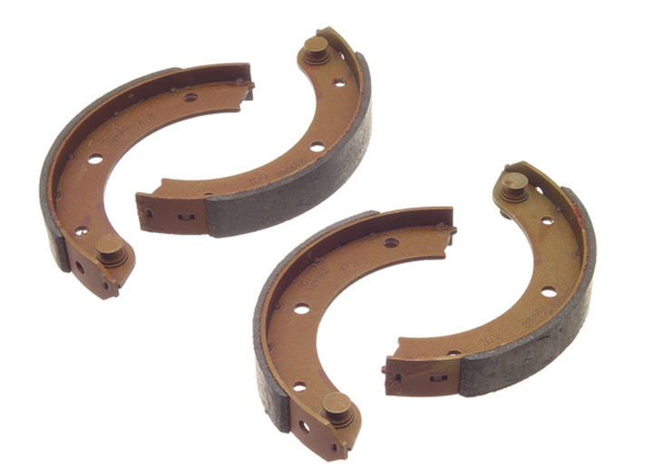 Emergency Brake Shoe Set, 930/911 Turbo 1987-89