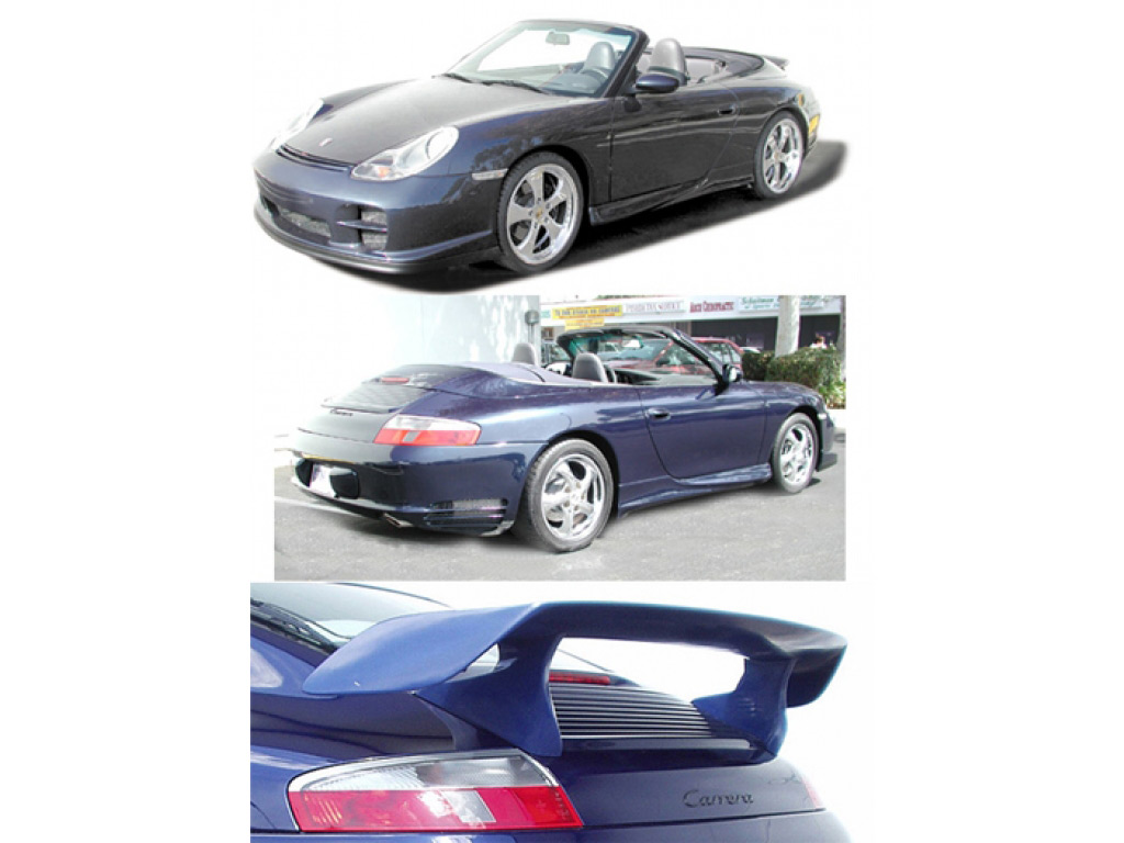 porsche 996 turbo rear spoiler wing results. Black Bedroom Furniture Sets. Home Design Ideas