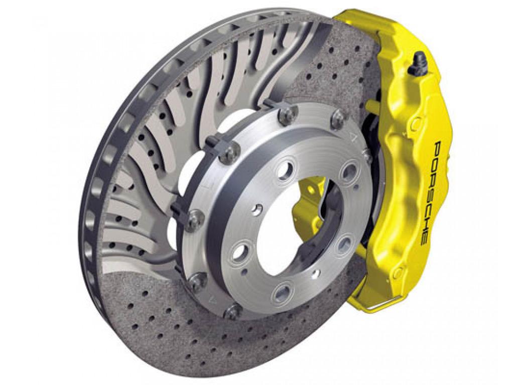 OEM Front Pccb Brake Rotor Set