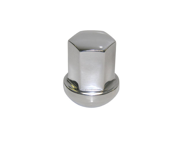 Polished Alloy Lug Nut, Each