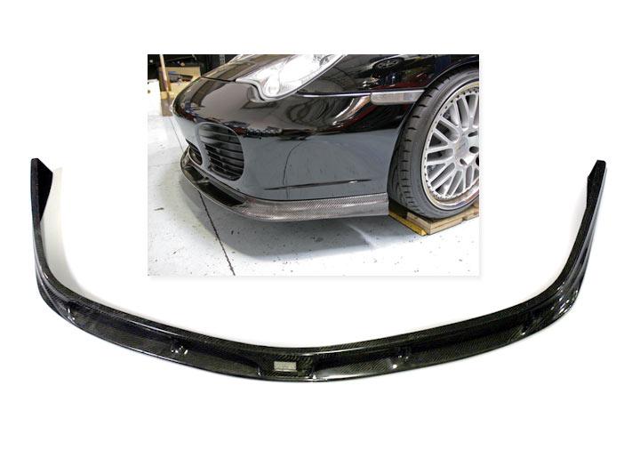 Agency Power Carbon Fiber Front Lip Spoiler, 911 Turbo