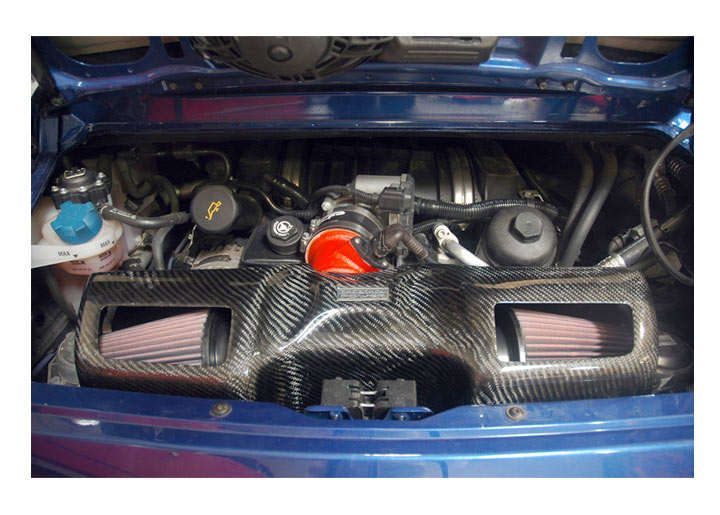 Agency Power Full Cold Air Intake With Carbon Fiber Box, 911 '0...