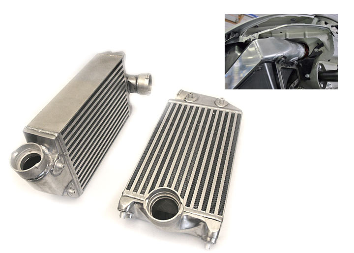 Agency Power High Flow Racing Intercoolers, 911 Turbo