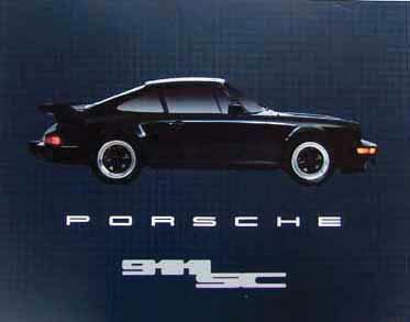 Porsche 911sc Poster