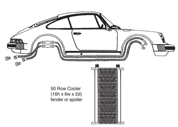 porsche 944 oil cooler parts diagrams  porsche  auto