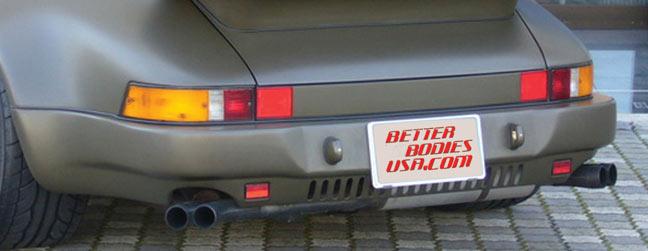 Fiberglass Bb Rs Rear Bumper