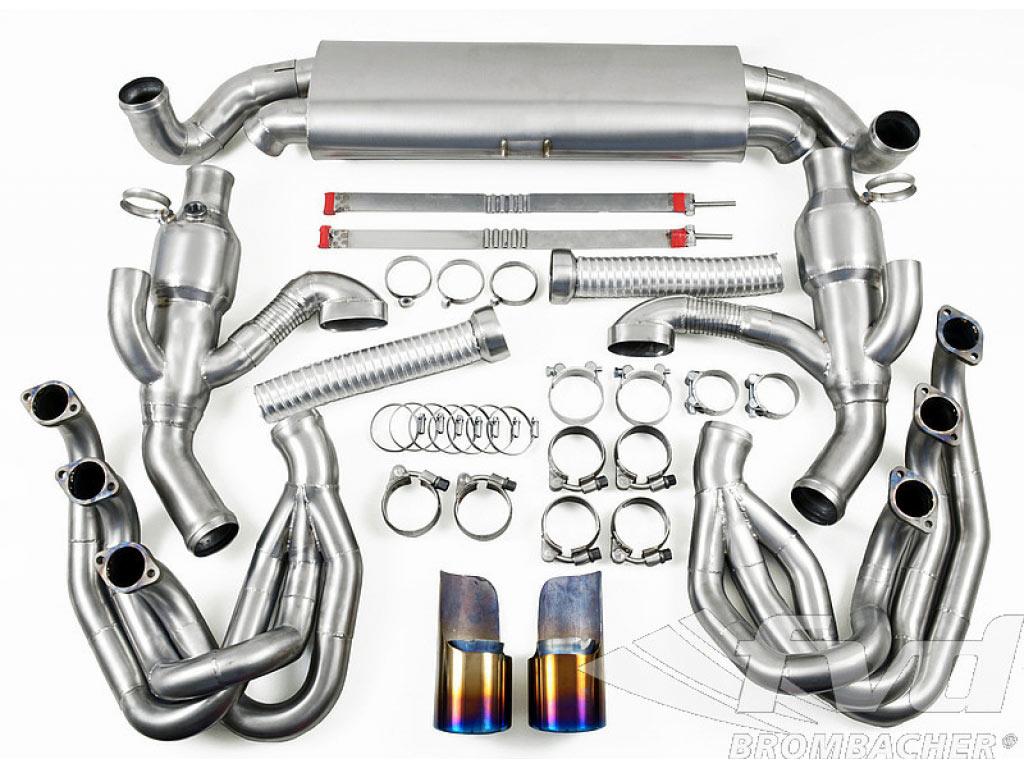 Titanium Exhaust System Brombacher 964 (sound Version), 100 Cel...