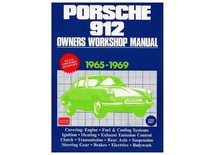 Porsche 912 Owners Workshop Manual, Book