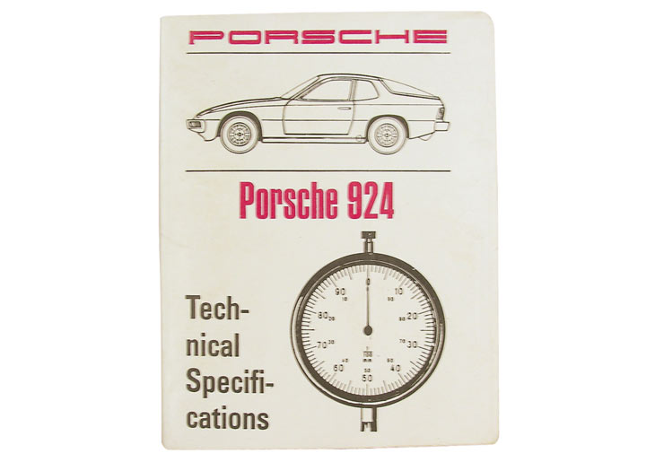 924 Technical Specification Book
