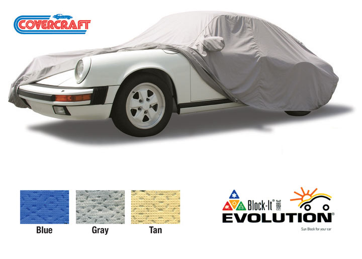 Covercraft Evolution Tailored Outdoor Car Cover Cayenne Only