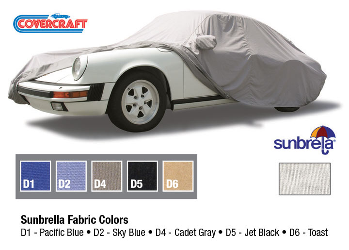 Covercraft Sunbrella Tailored Outdoor Car Cover All Except Caye...
