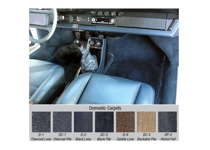 Porsche 911 Carpet Kit Results